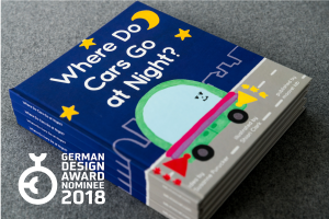 Cover for German Design Award 2018: Proud to be in the Race