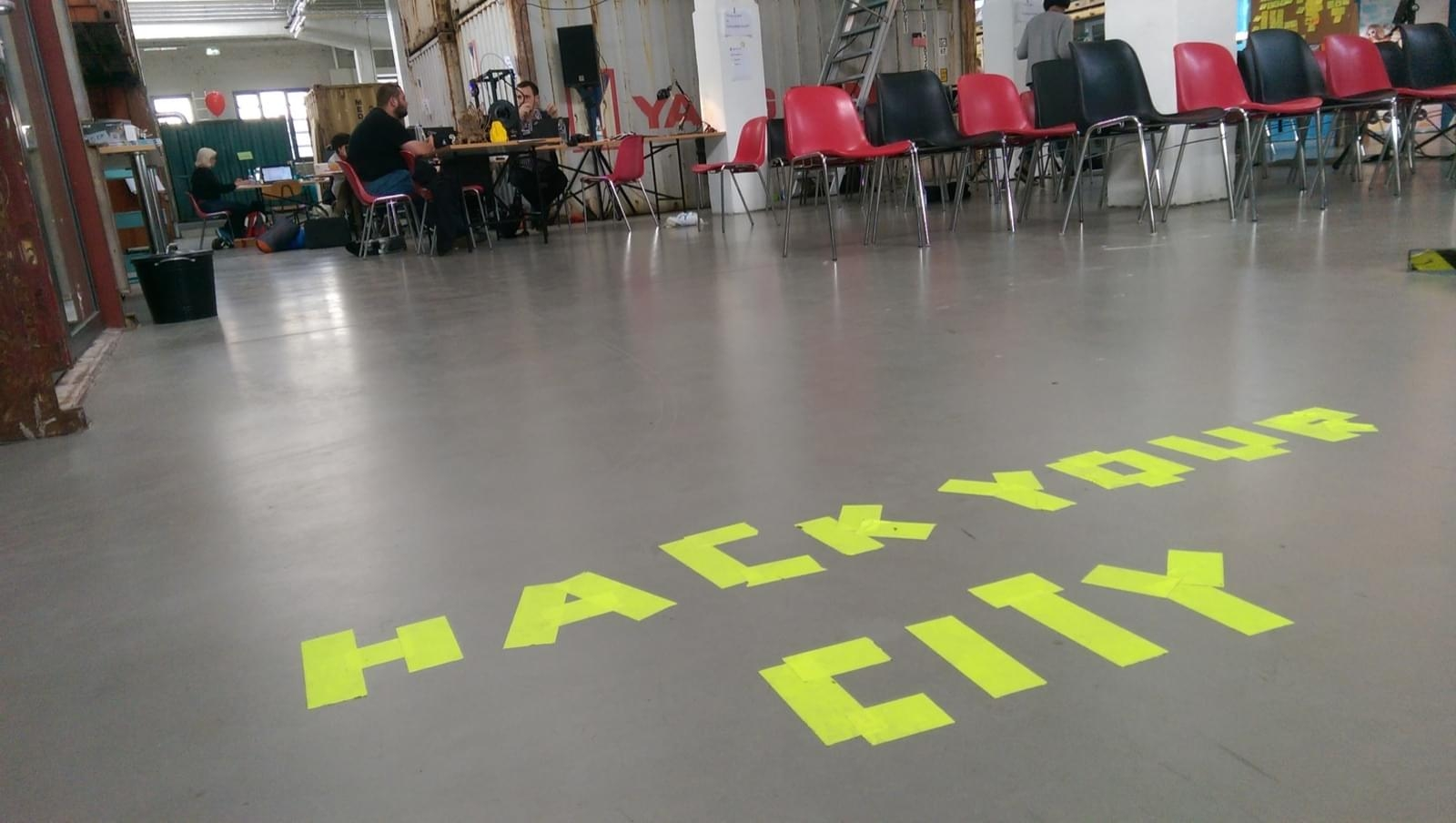 Cover for hack your city: Karlsruhe - New Ways of Citizen Empowerment